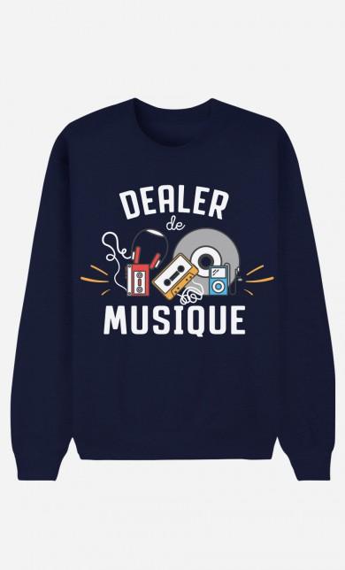 Sweat Bleu Dealer De Musique