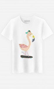 T-Shirt Flamingo Skater