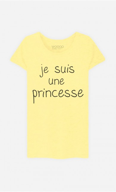 T-Shirt Je Suis Une Princesse