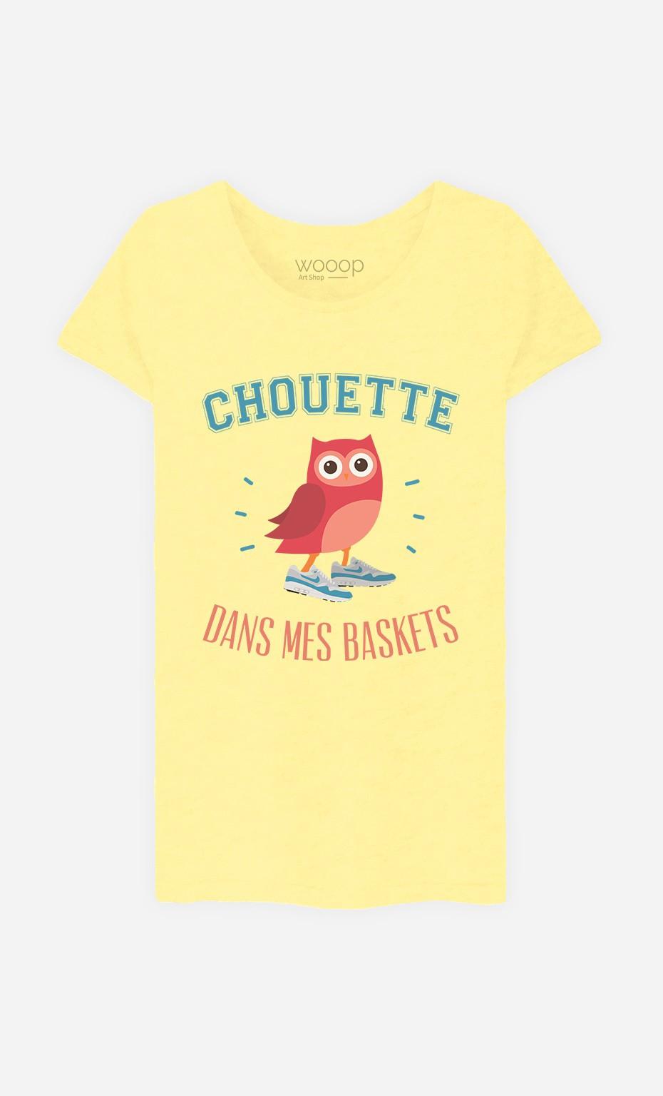 T-Shirt Chouette Dans Mes Baskets