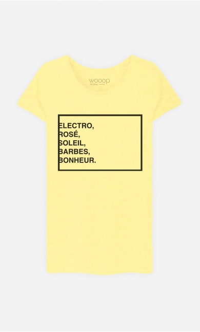 T-Shirt Electro Rosé