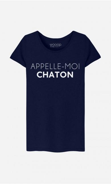 T-Shirt Appelle-Moi Chaton