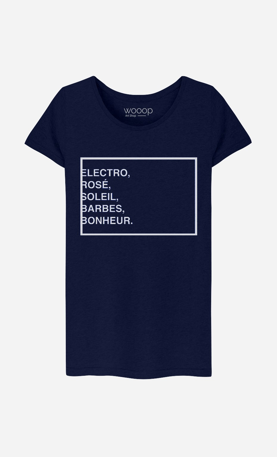 T-Shirt Femme Electro Rosé