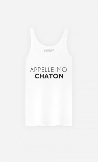 Débardeur Femme Appelle-Moi Chaton