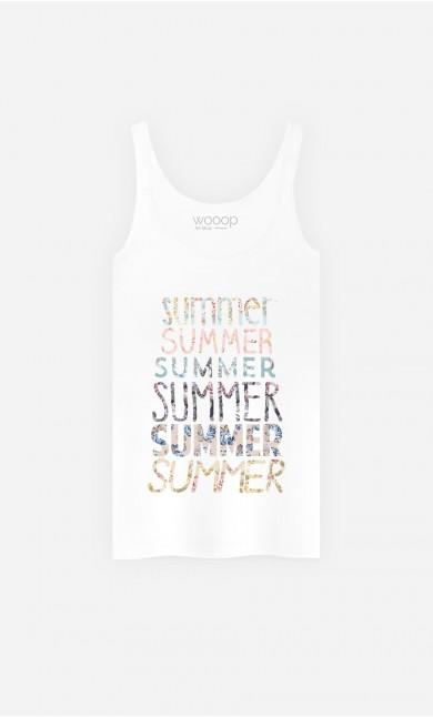 Débardeur Femme Summer