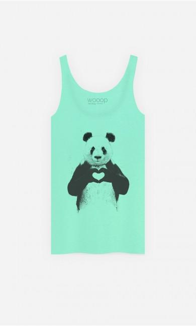 Débardeur Love Panda