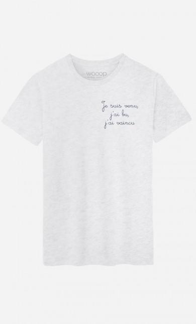 T-Shirt Je Suis Venu - Brodé