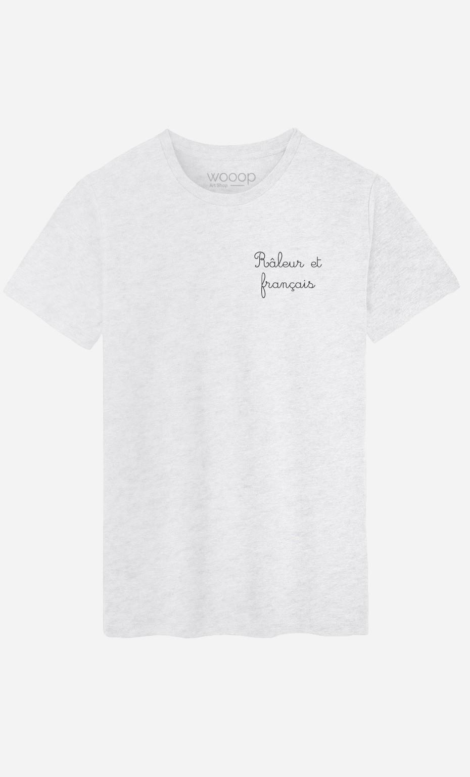 T-Shirt Homme Râleur et Français - Brodé