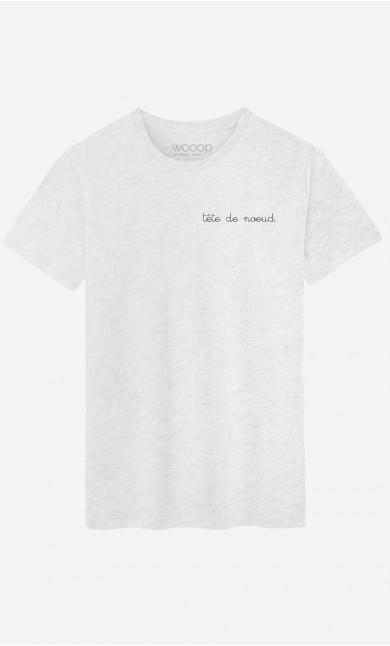 T-Shirt Homme Tête de Noeud - Brodé