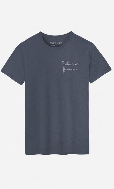 T-Shirt Râleur et Français - Brodé