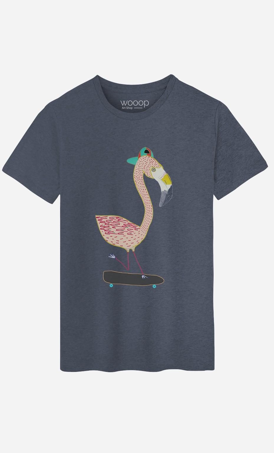 T-Shirt Homme Flamingo Skater