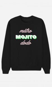 Sweat Noir Métro Mojito Dodo