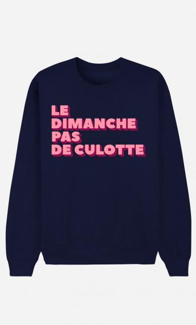 Blue Sweater Le Dimanche pas de Culotte