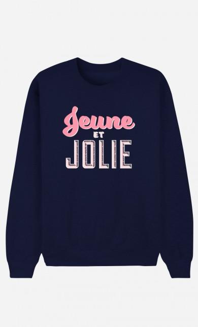 Blue Sweater Jeune et Jolie