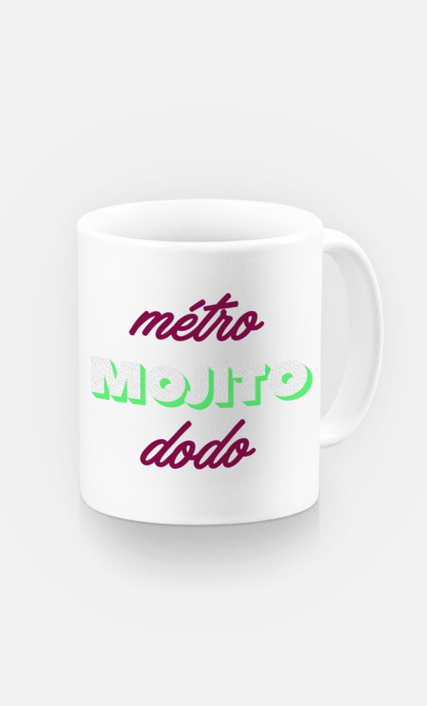 Mug Métro Mojito Dodo