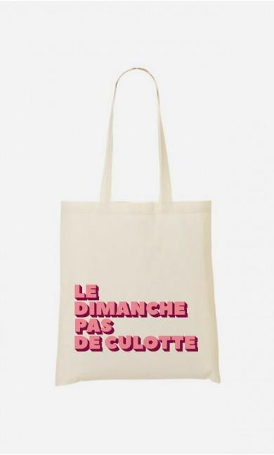 Tote Bag Le Dimanche pas de Culotte