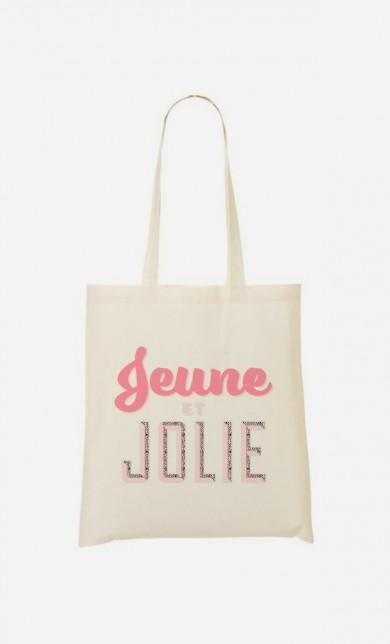 Tote Bag Jeune et Jolie
