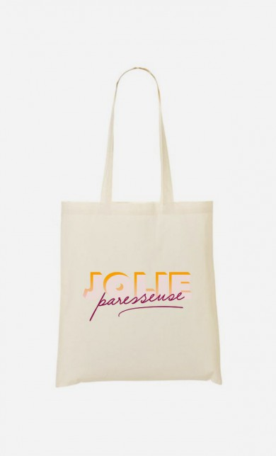Tote Bag Jolie Paresseuse