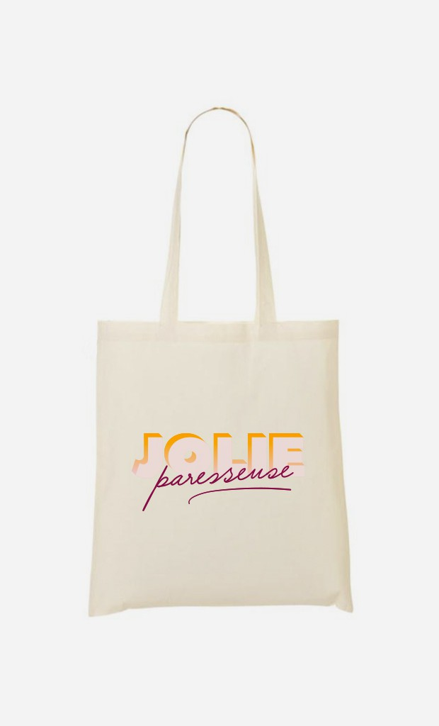 Tote Bag Jolie Paresseuse