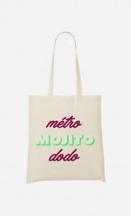 Tote Bag Métro Mojito Dodo