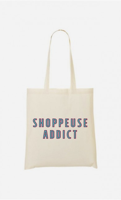 Tote Bag Shoppeuse Addict
