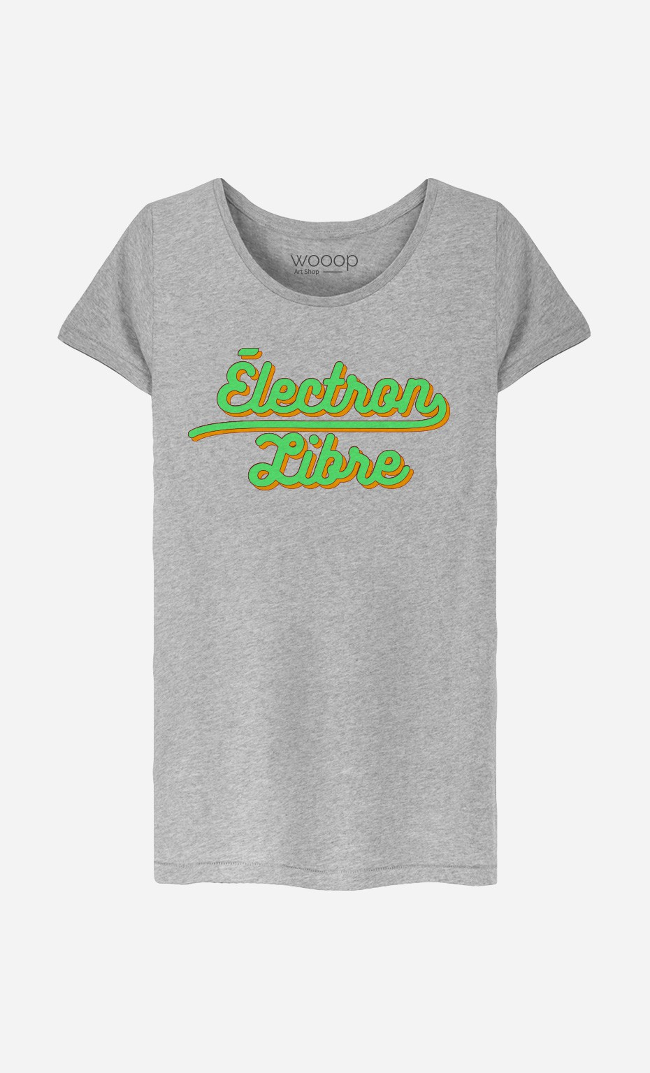T-Shirt Femme Électron Libre