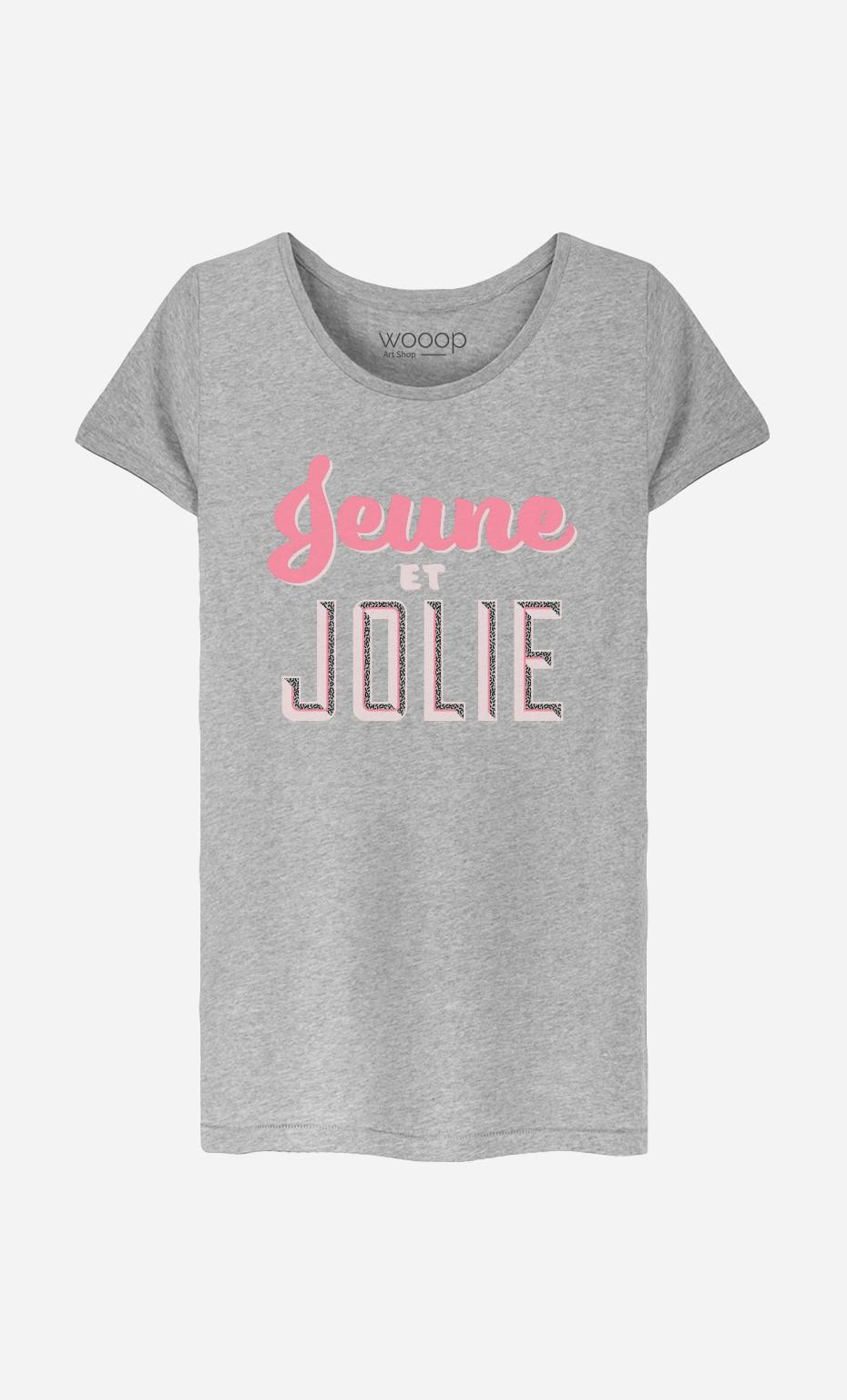 51bc254f1 T-Shirt Femme Jeune et Jolie