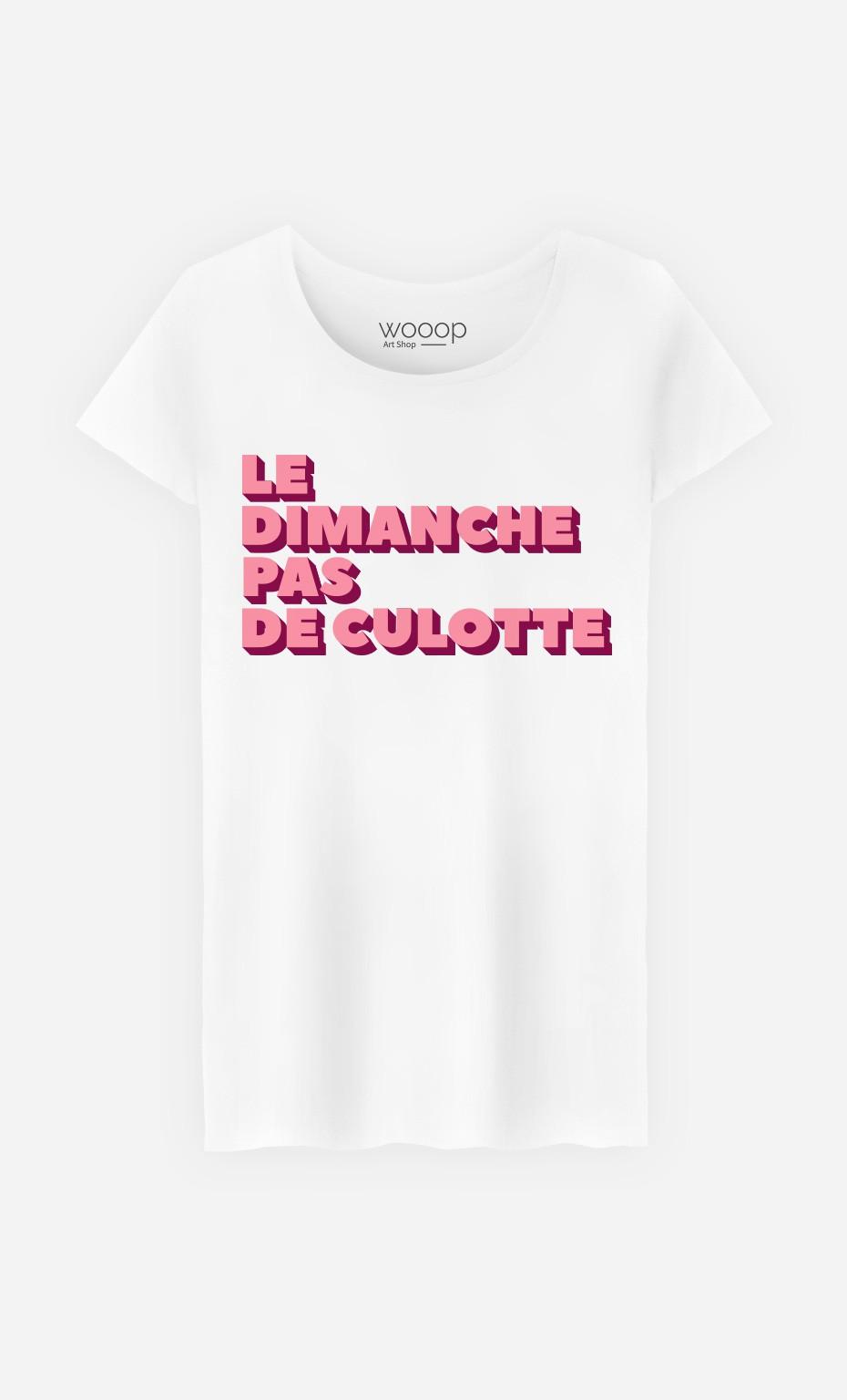 T-Shirt Le Dimanche pas de Culotte
