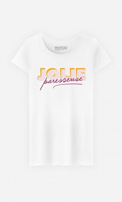 T-Shirt Jolie Paresseuse