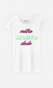 T-Shirt Femme Métro Mojito Dodo