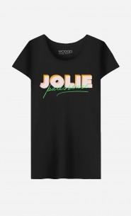 T-Shirt Femme Jolie Paresseuse