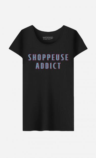 T-Shirt Shoppeuse Addict