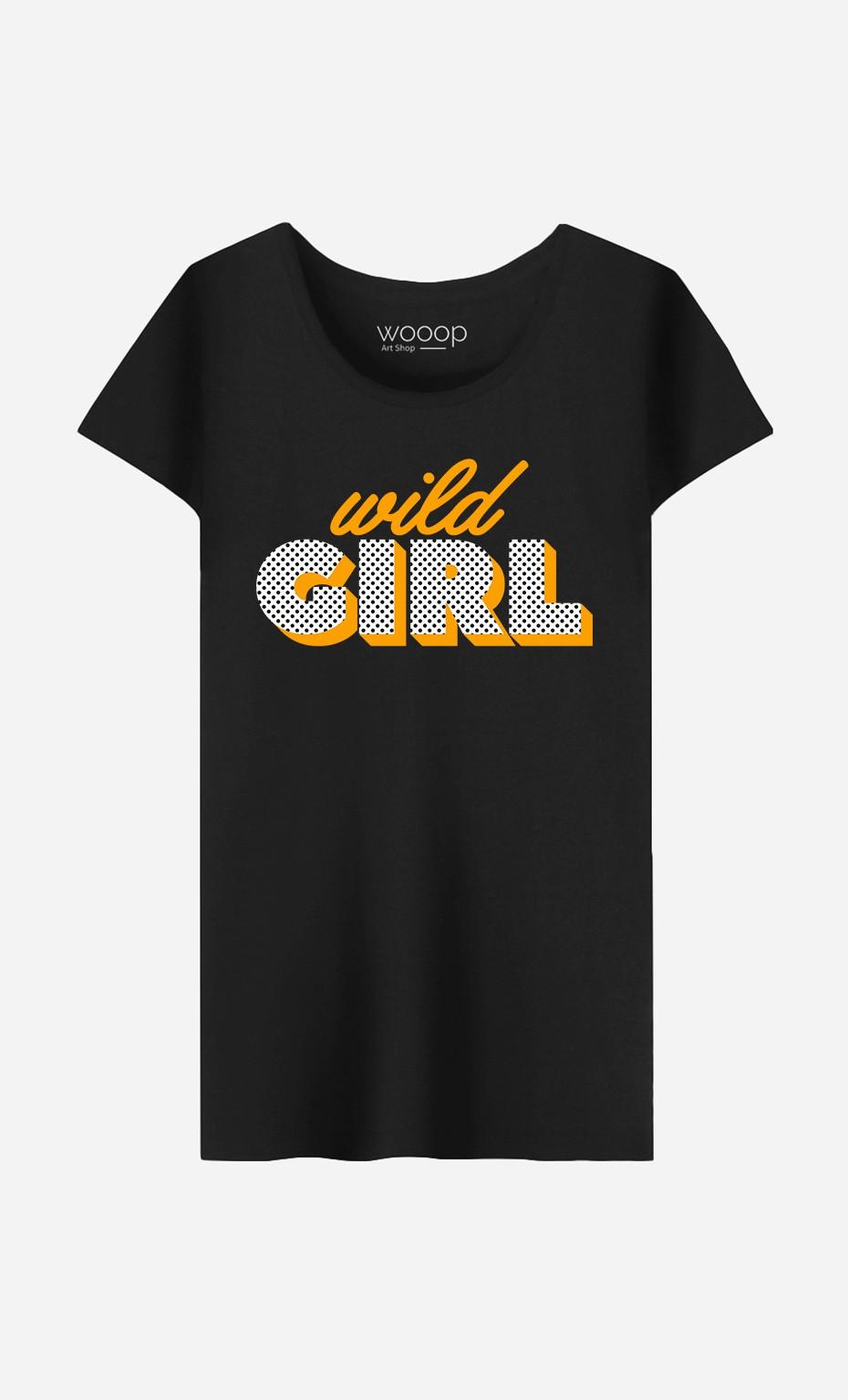 T-Shirt Wild Girl