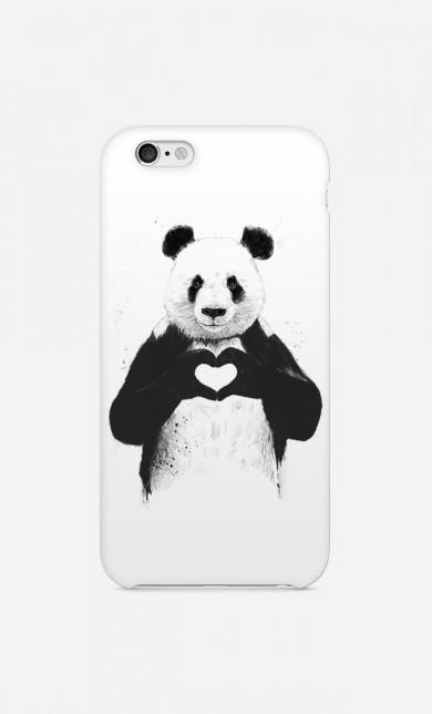 """Case Funny """"Love Panda"""""""