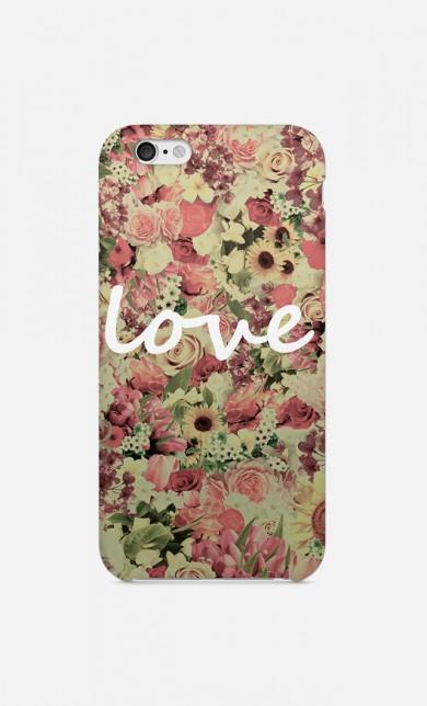 Coque Love Flores