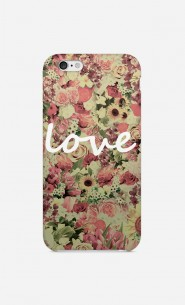 Coque Love Flores