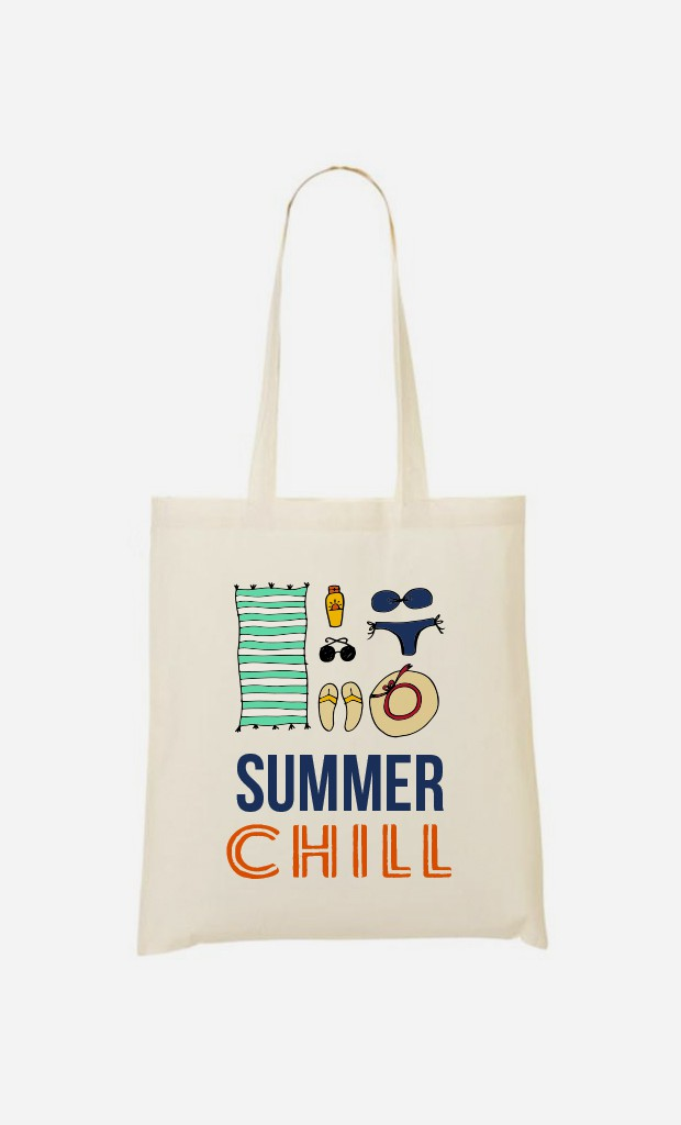 Tote Bag Summer Chill