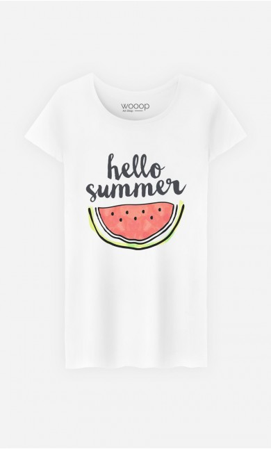 T-Shirt Hello Summer
