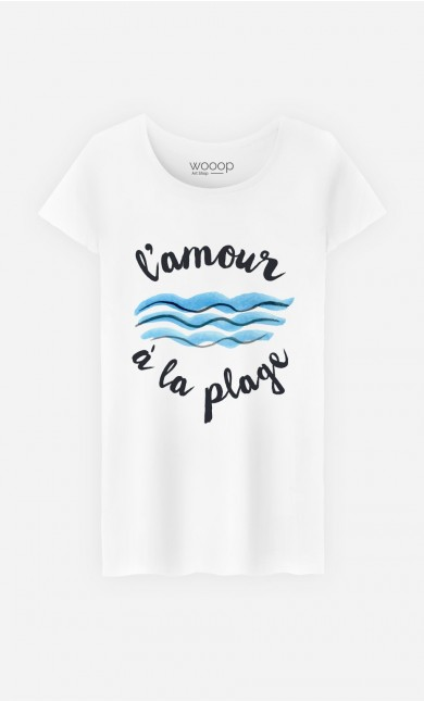 T-Shirt L'Amour à la Plage