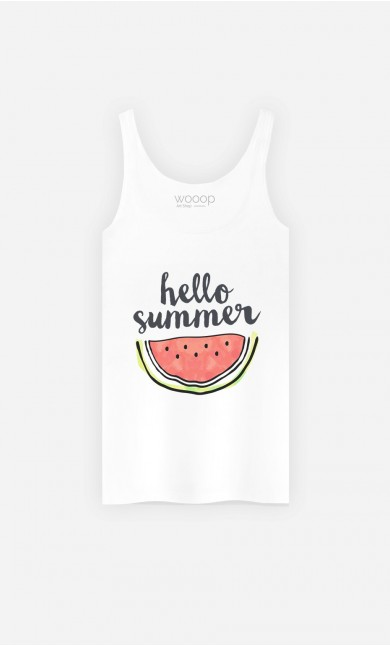 Débardeur Hello Summer