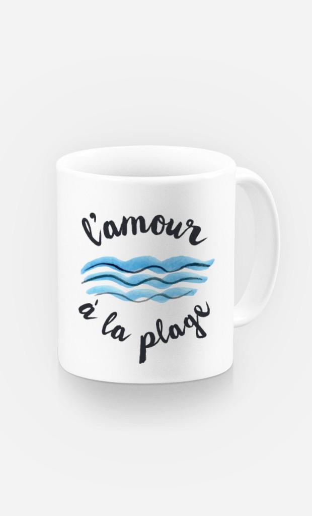 Mug L'Amour à la Plage