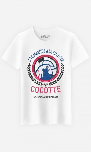 T-Shirt Homme J'te Marque à la Culotte Cocotte