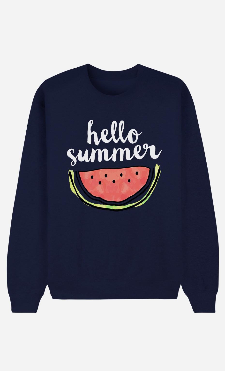 Sweat Femme Hello Summer