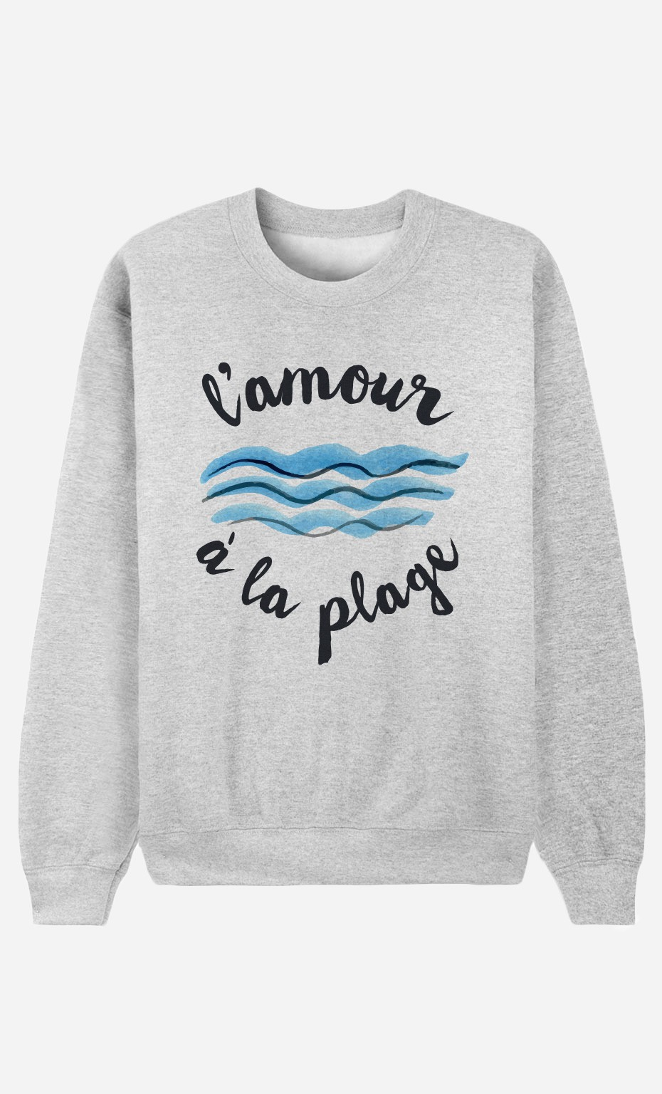 Sweat L'Amour à la Plage