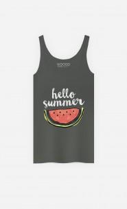 Débardeur Femme Hello Summer