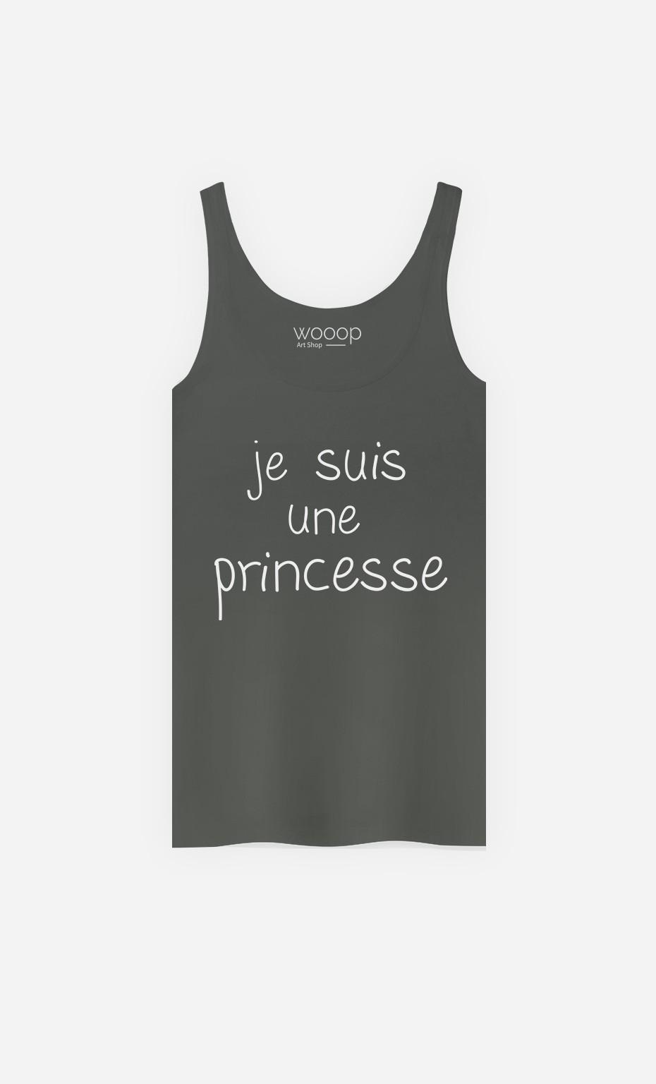 Débardeur Je Suis Une Princesse