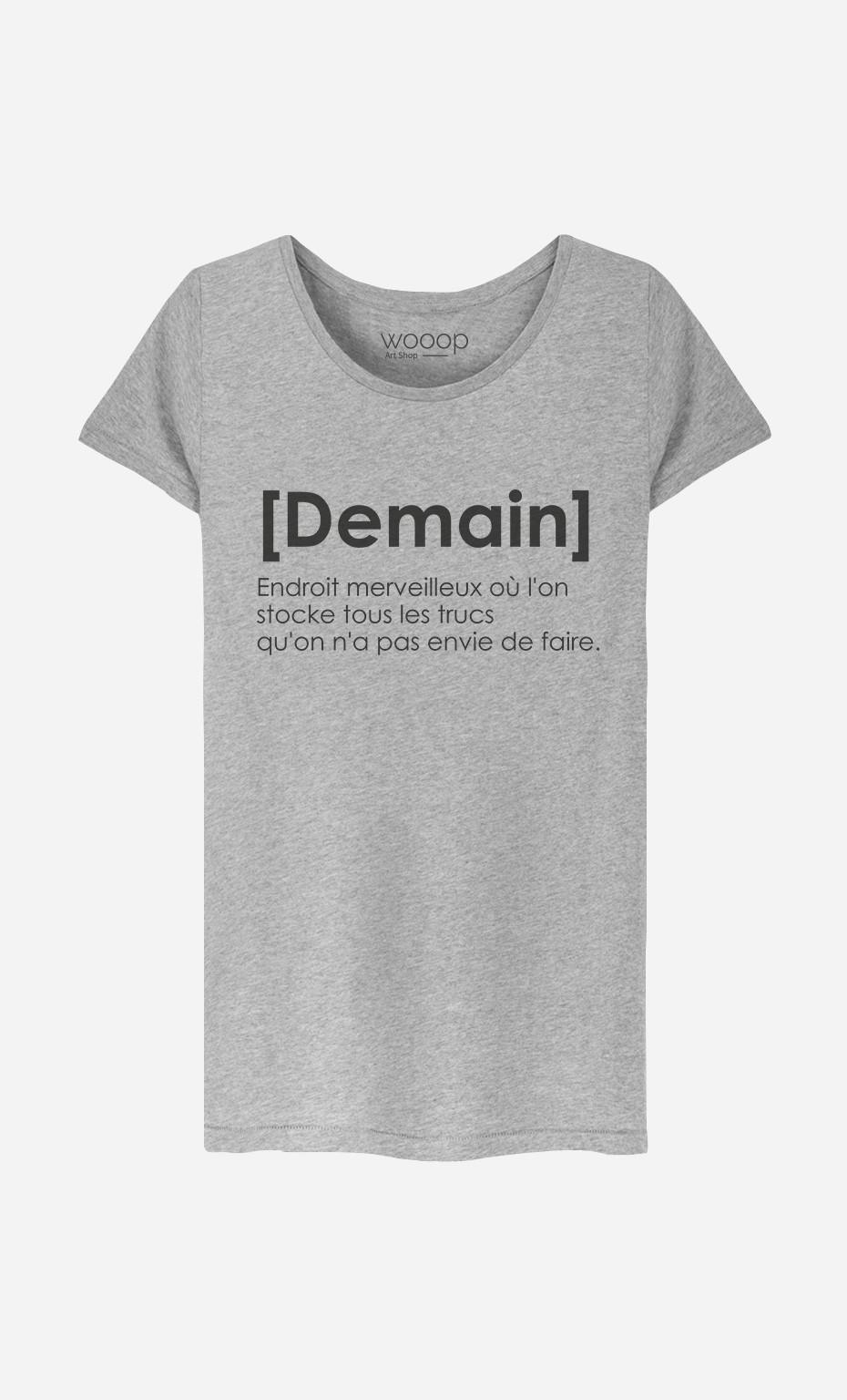 T-Shirt Demain Définition