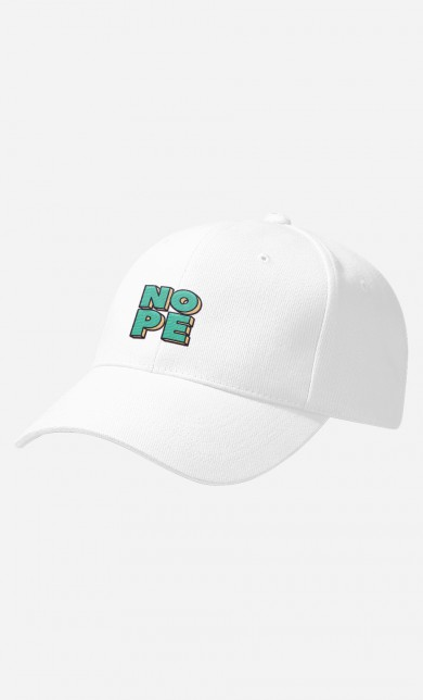 Casquette Nope Green