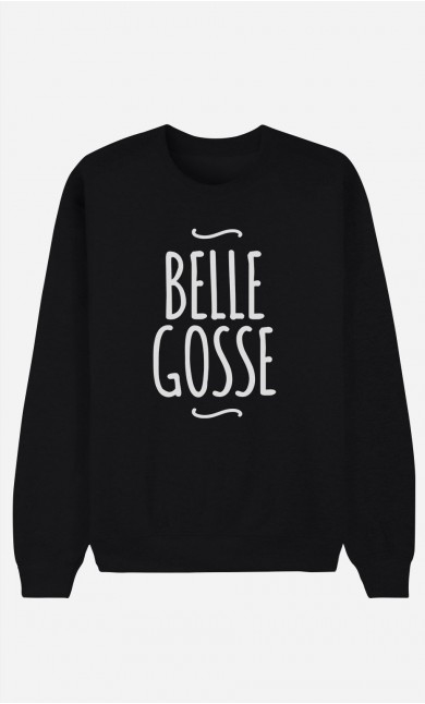 Sweat Noir Belle Gosse