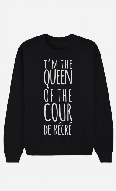 Sweat Noir Queen of the Cour